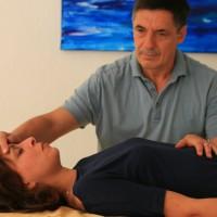 Kontaktposition Gehirn und Rückenmark